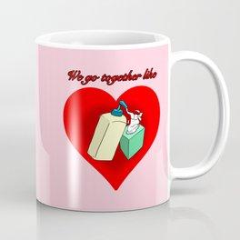 Hand Lotion and Tissues Coffee Mug