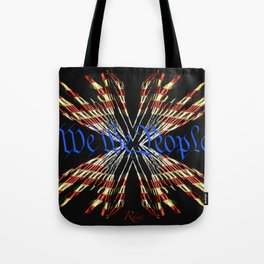 We The People - Rise Tote Bag