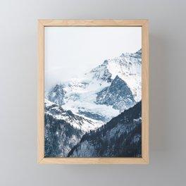 Mountains 2 Framed Mini Art Print