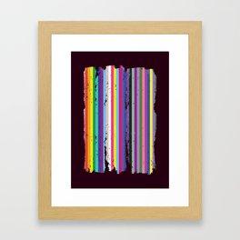 LGBTQ2 Pride Framed Art Print