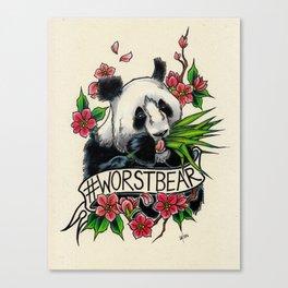Worst Bear from #2016MMM Canvas Print