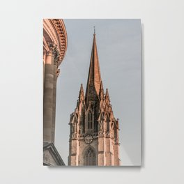 St. Mary The Virgin Anglican Church at Oxford University England Metal Print
