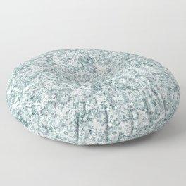 flowered Floor Pillow