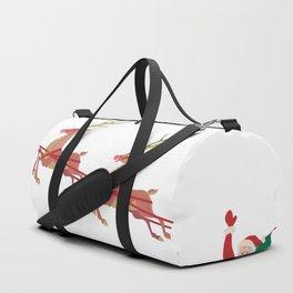 Santa's sleigh Duffle Bag