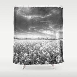 The Farm Of Dreams Shower Curtain