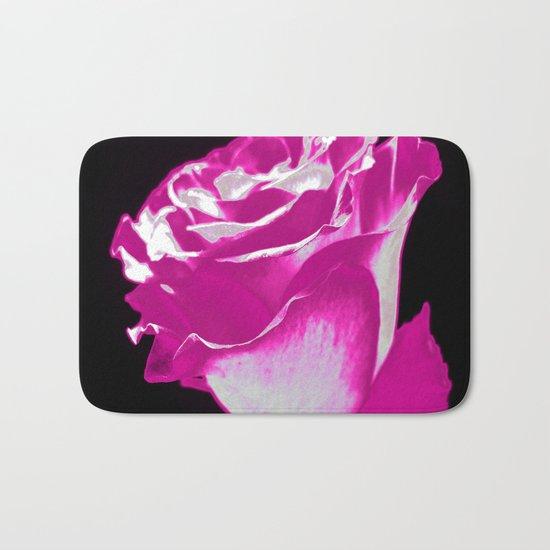 Colorful Rose F Bath Mat