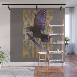 The Messenger/ Raven Cycle Wall Mural