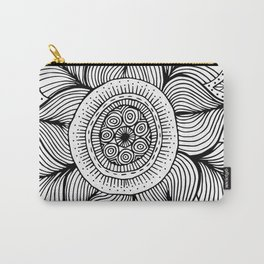 Doodle Flower Carry-All Pouch