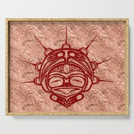 Blood Frog Copper Serving Tray