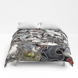 Sea gulls for bird lovers Comforters