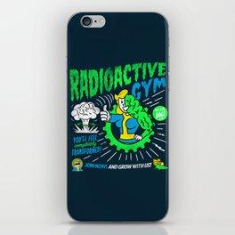 Radioactive Gym iPhone Skin