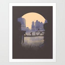The Last of Us 2 Poster Series - Lev's shortcut Art Print