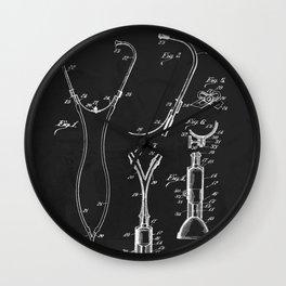 Vintage 1924 Stethoscope Patent  Wall Clock