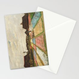 Flower Beds in Holland by Vincent van Gogh, 1883 Stationery Cards
