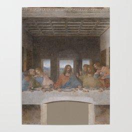 """Leonardo da Vinci """"The Last Supper"""" Poster"""