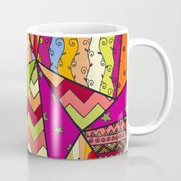 African Style No14, Tribal dance Coffee Mug