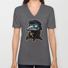 Chibi Plague Doctor Unisex V-Neck