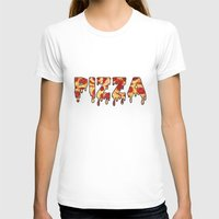 pizza T-shirts featuring Pizza... by radoverlays