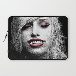Beautiful Young Seductive Vampire Laptop Sleeve