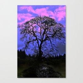 Altered Oak Canvas Print