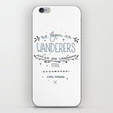 Wanderers iPhone & iPod Skin