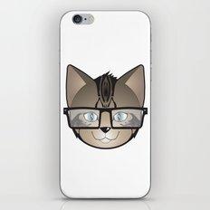Tabby Glasses iPhone Skin