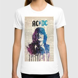 Hard rock art on dictionary #young T-shirt