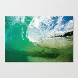 under wave Canvas Print