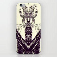 Surf Totem iPhone & iPod Skin