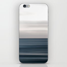 Sea, ocean, water and horizon iPhone Skin