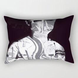 """Timeless Emptiness"" By Nacho Dung. Rectangular Pillow"