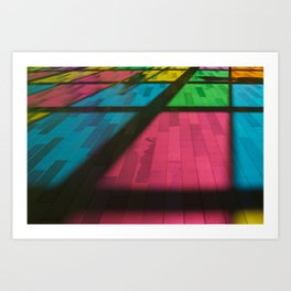 Couleur - colors Art Print