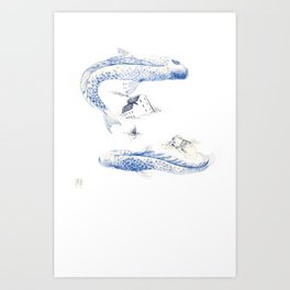 Alluvione | Flood Art Print