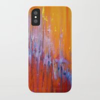 talking heads iPhone & iPod Cases featuring The Bar is Called Heaven/Talking Heads by Jeannette Stutzman