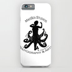 MadSea Nymph, black on white Slim Case iPhone 6s