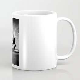 Lonely Beauty - Nude woman alone in a dungeon or cellar Coffee Mug