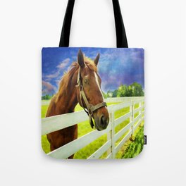 Hello From the Bluegrass State Tote Bag