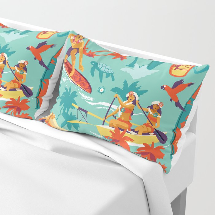 Hawaiian resort Pillow Sham