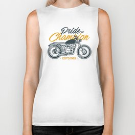 Classic Motorcycle Club Illustration Biker Tank