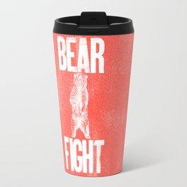 Bear Fight Travel Mug