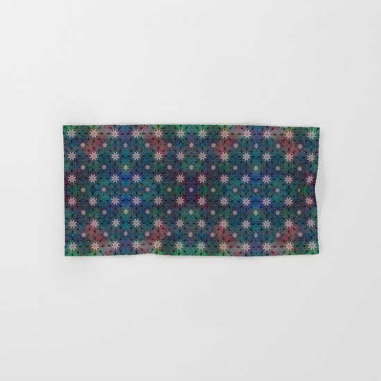 Water Lily Pattern Hand & Bath Towel