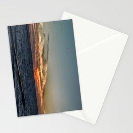 Summer sunset on lake Ontario Stationery Cards