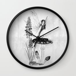 My childhood fantasy-Fairy Fairy Fairy Wall Clock