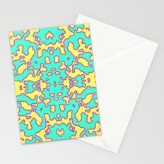 Electric Pattern Stationery Cards