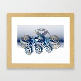 loxedromes  Framed Art Print