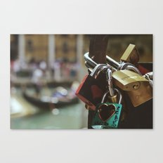 Key to my heart Canvas Print