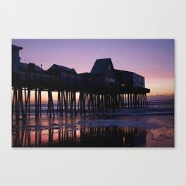 Old Orchard Beach Sunrise Canvas Print