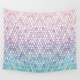 Spring Mermaid Scales Wall Tapestry