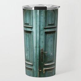 Emerald Door Travel Mug