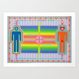 What is Love? Art Print